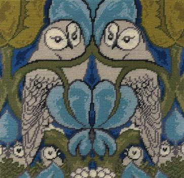 DMC Tapestry Kit - C.F.A. Voysey - The Owl