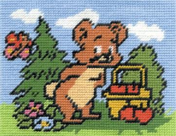 DMC Childrens Tapestry Kit - Eddie The Bear - C8490K