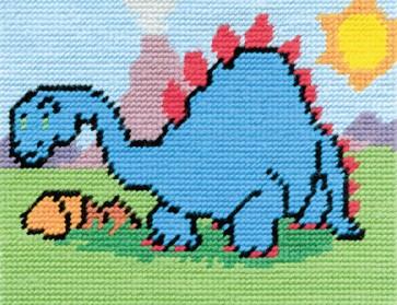 DMC Childrens Tapestry Kit - Danni The Dino - C8510K