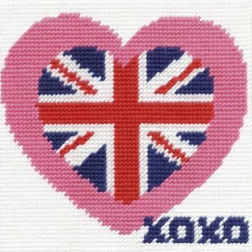 DMC Tapestry Kit - British Heart - CK034
