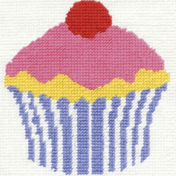 DMC Tapestry Kit - Cupcake