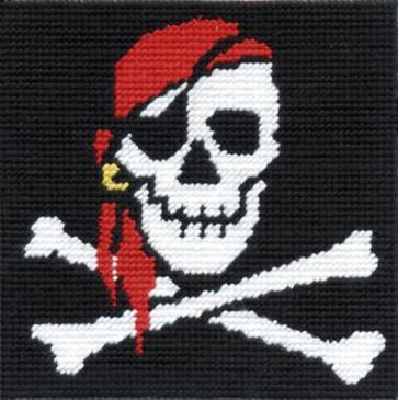 DMC Tapestry Kit - Jolly Roger - CK041