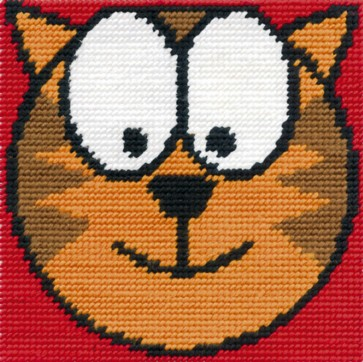 DMC Tapestry Kit - Cool Cat