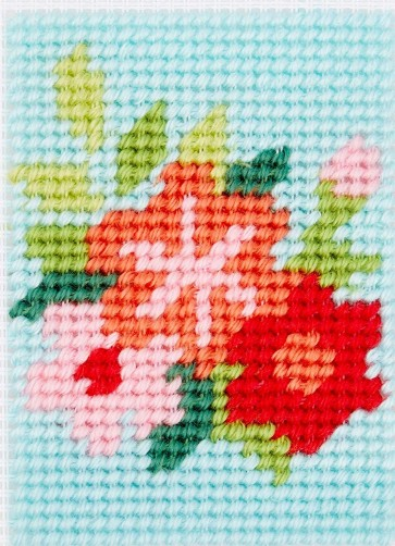 DMC Tapestry Kit - Texan Flowers
