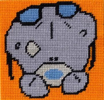 DMC Tapestry Kit - Tatty Ted - Cool Bear