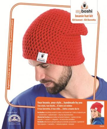 DMC Myboshi Beanie Hat Crochet Kit - CR063K