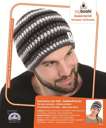 DMC Myboshi Beanie Hat Crochet Kit - CR064K