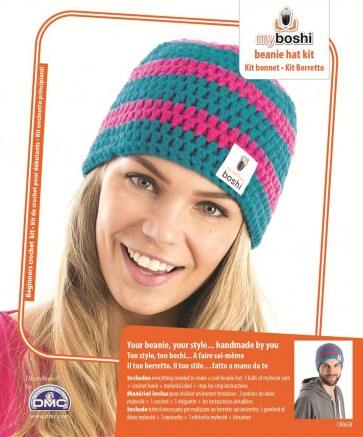 DMC Myboshi Beanie Hat Crochet Kit - CR065K