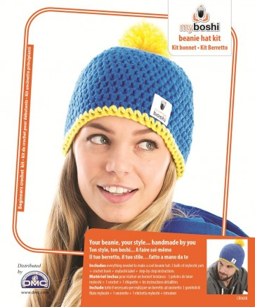 DMC Myboshi Beanie Hat Crochet Kit - CR068K
