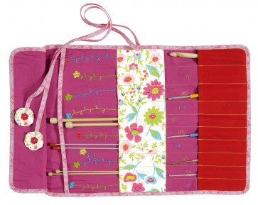 DMC Sewing Kit - Crochets And Needles Storage Pouch  - CT008K