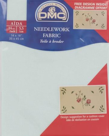 DMC 14 Count Aida Fabric 14x18 Inches (35x45cm) - DC27/964