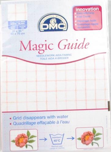 14 Count Magic Guide 20x30 Inches (50x75cm) - Ecru - DC28MG
