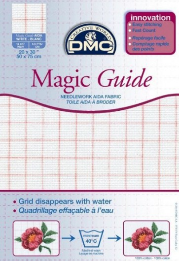 14 Count Magic Guide 20x30 Inches (50x75cm) - Blanc - DC28MG