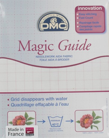 18 Count Magic Guide 14x18 Inches (35x45cm) - Ecru - DC37MG