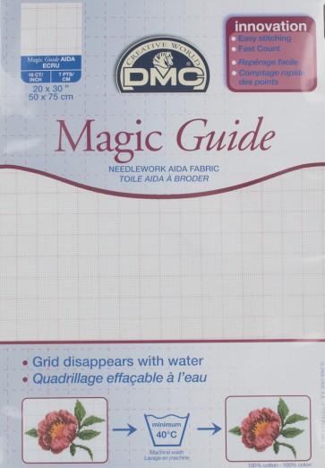 18 Count Magic Guide 20x30 Inches (50x75cm) - Ecru - DC38MG