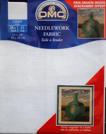 DMC 28 Count Linen Fabric 14x18 Inches (35x45cm) - DC47SO/B5200