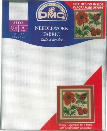 16 Count Aida Fabric 14x18 Inches (35x45cm) - DC87/712