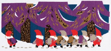 DMC Counted Cross Stitch Kit - Tomte - Tomte Parade