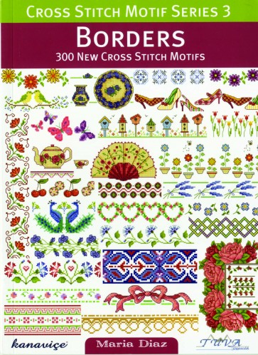 Cross Stitch Motif Series 3 Book - Borders
