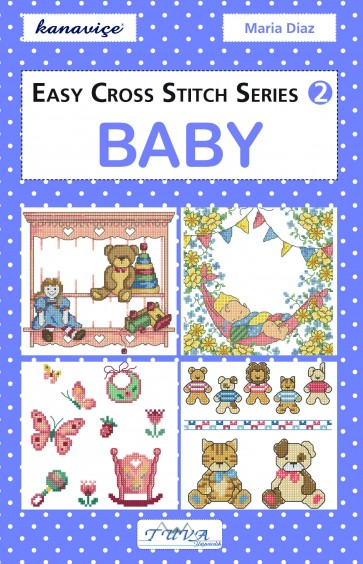 Easy Cross Stitch Series Design Book - Baby