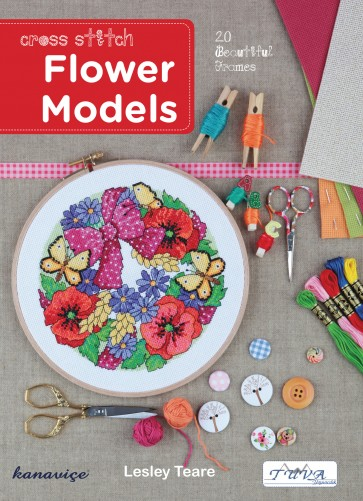 Cross Stitch Design Book - Flower Models