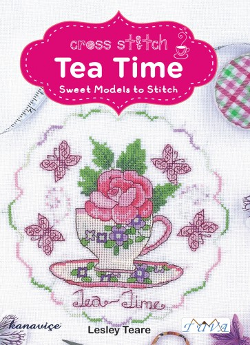 Cross Stitch Design Book - Tea Time
