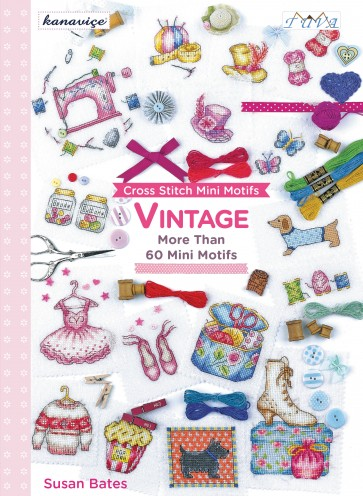Cross Stitch Design Book - Vintage