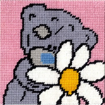 DMC Tapestry Kit - Tatty Ted - Fresh Daisy
