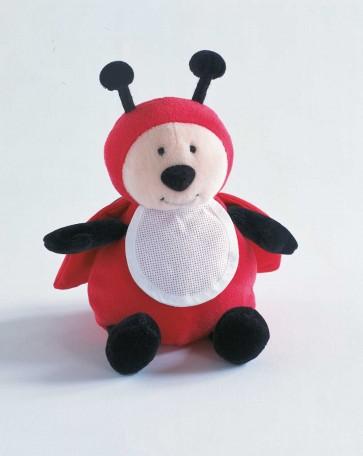 DMC Cross Stitch Soft Toy - Stitch-a-Teddy - Ladybug Soft Toy