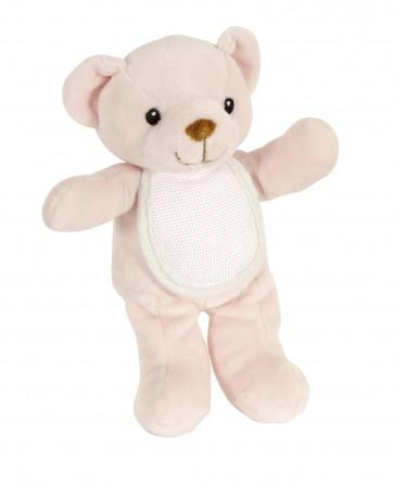 DMC Cross Stitch Soft Toy - Stitch-a-Teddy - Pink Teddy Bear Soft Plush Toy