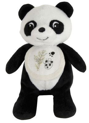 DMC Cross Stitch Soft Toy - Stitch-a-Teddy - Panda Soft Toy