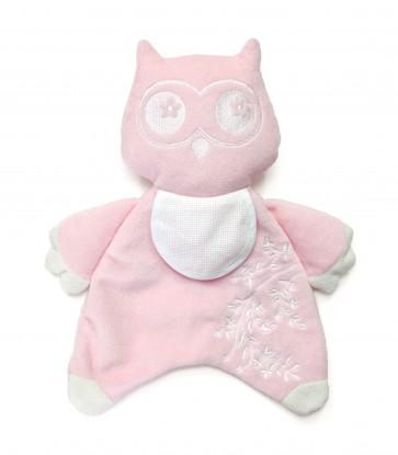 DMC Cross Stitch Soft Toy - Stitch-a-Teddy - Pink Owl Soft Toy