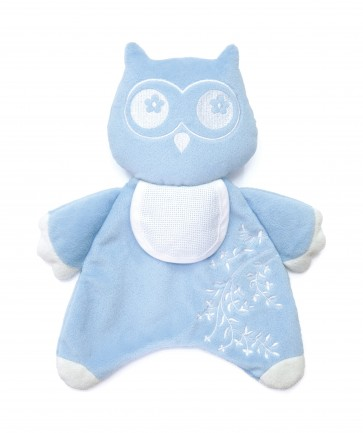 DMC Cross Stitch Soft Toy - Stitch-a-Teddy - Blue Owl Soft Toy