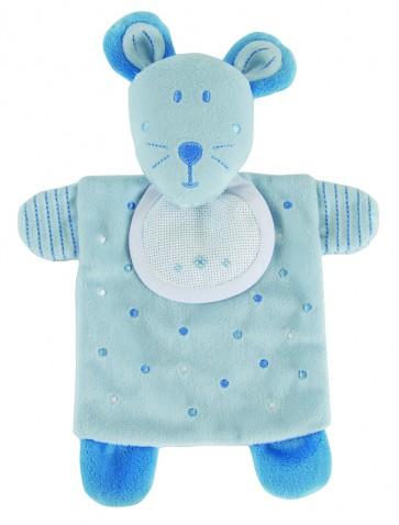 DMC Cross Stitch Soft Toy - Stitch-a-Teddy - Blue Mouse Soft Toy