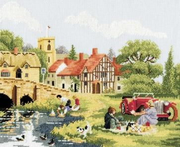 DMC Cross Stitch Kit - Countryside - Thirties Sunday