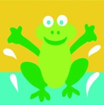 DMC Childrens Tapestry Kit - Frog - C09N144K