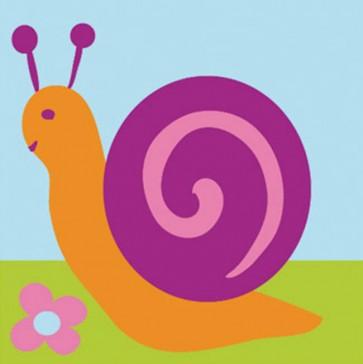 DMC Childrens Tapestry Kit - Snail - C09N139K