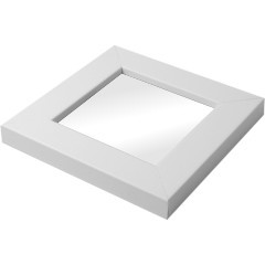 White 90mm Square Embroidery and Cross Stitch Frame