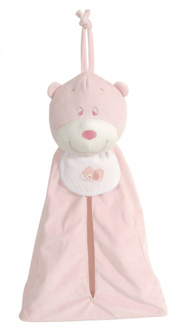 Stitch A Teddy - Pink Storage Teddy