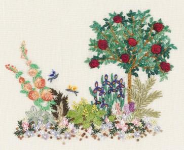 DMC Embroidery Kits - Small Garden