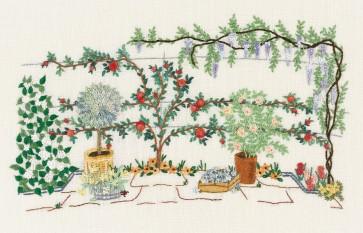 DMC Embroidery Kits - Climbing Rose Tree