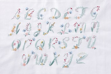 DMC Embroidery Kit - Butterfly Alphabet