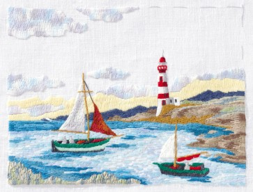 DMC Embroidery Kit - Sailing Boat
