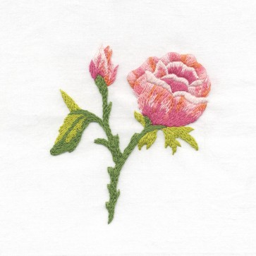 DMC Beginners Embroidery Kit - Floral Embroidery - Rose