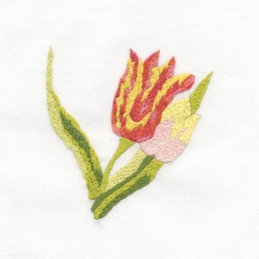 DMC Beginners Embroidery Kit - Floral Embroidery - Tulip