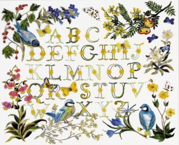 DMC Embroidery Kit - Birds ABC - TB035