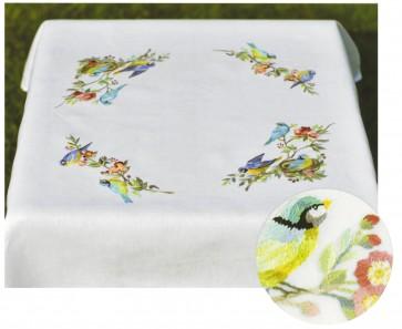 DMC Embroidery Kit - Birds Tablecloth - TK060