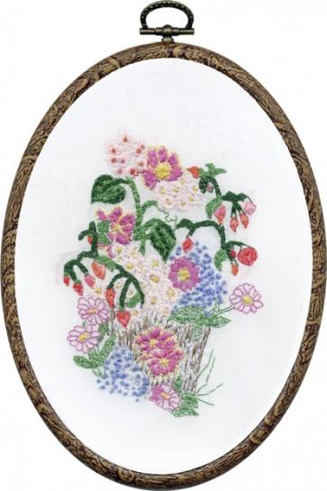 DMC Embroidery Kit - Flower Pot