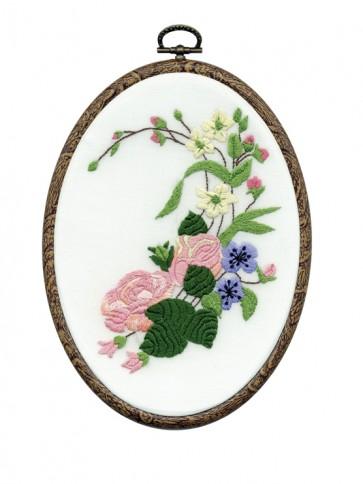 DMC Embroidery Kit - Roses