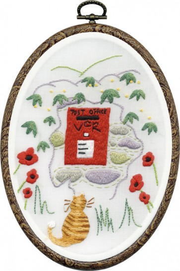 DMC Embroidery Kit - Post Box